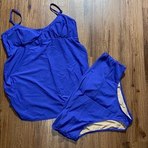 Old Nave maternity swimsuit